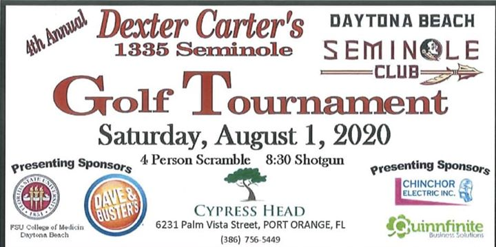 Dexter Carter's Golf Tournament