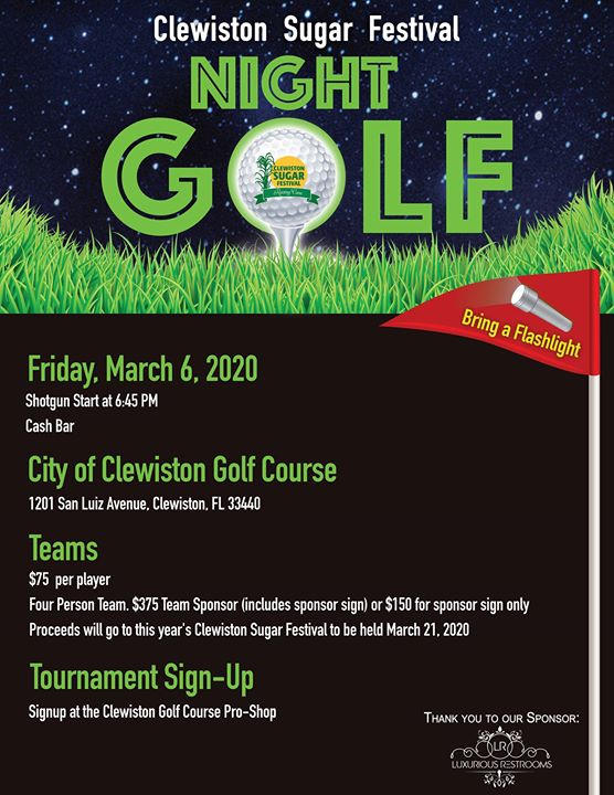 Glo-Ball Golf Tournament