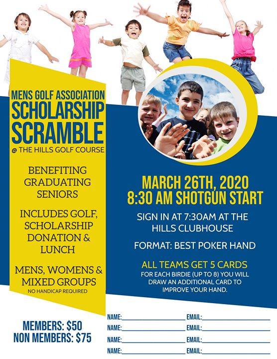 RMGA Scholarship Tournament