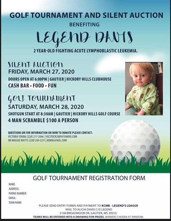 Benefit Golf Tournament for Legend Davis