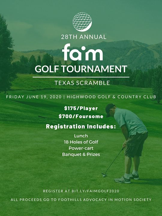 28th Annual FAIM Golf Tournament