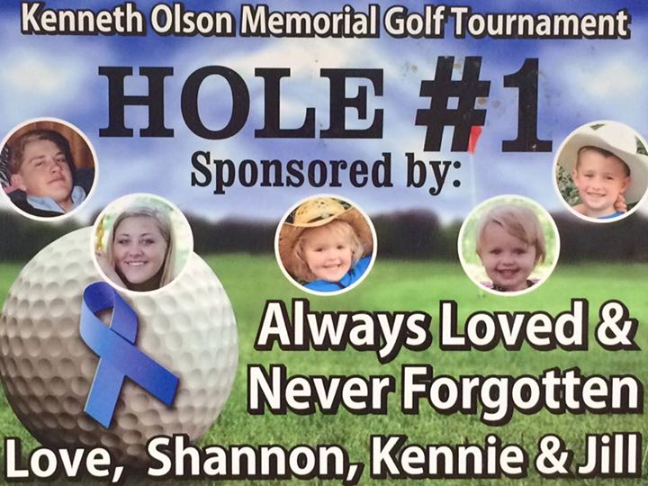 Kenneth Olson 8th Annual Golf Tournament