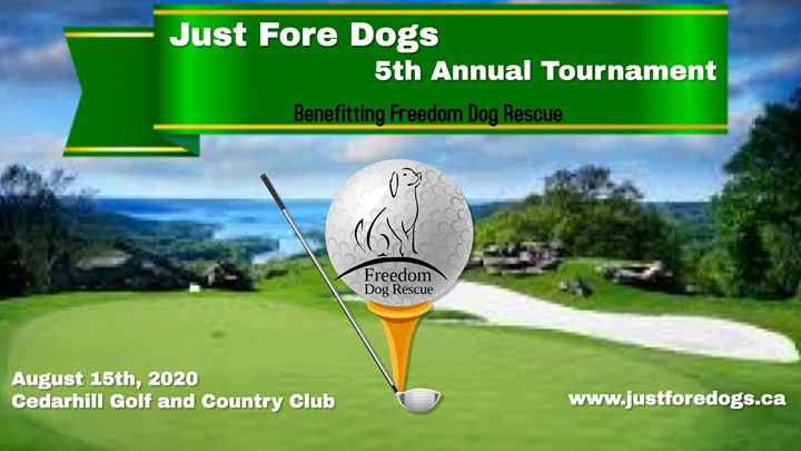5th Annual Just Fore Dogs Charity Golf Tournament