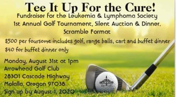 First Annual Fundraiser Golf Tournament