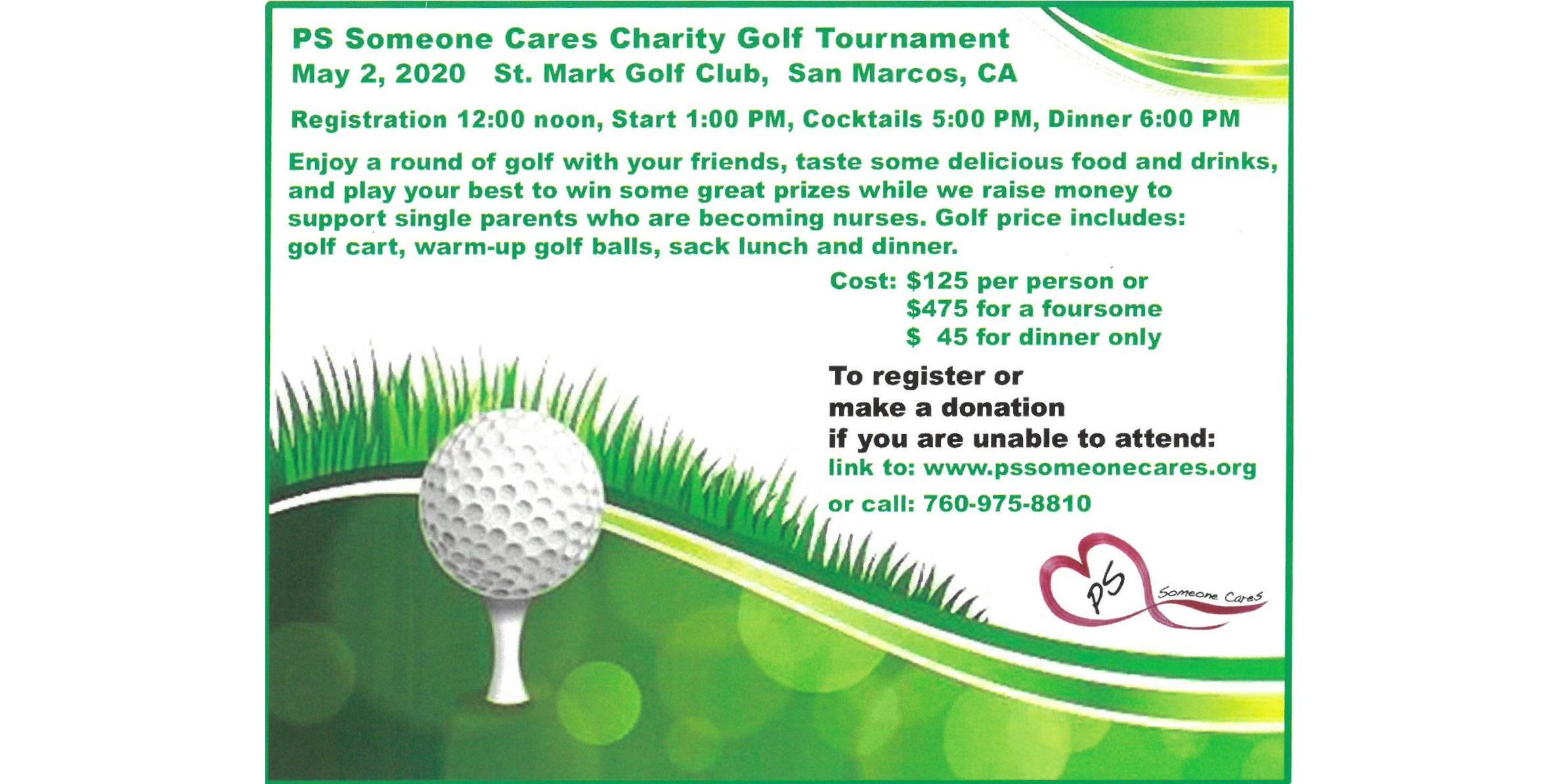 PS Someone Cares Golf Tournament