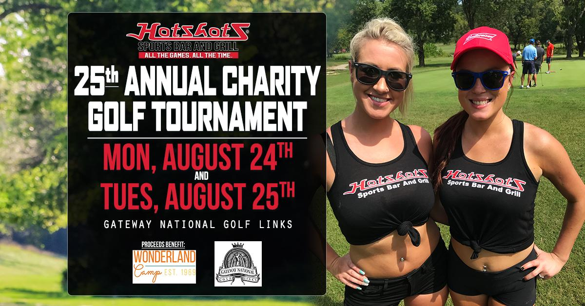 2020 Hotshots Sports Bar & Grill Charity Golf Tournament - TUESDAY
