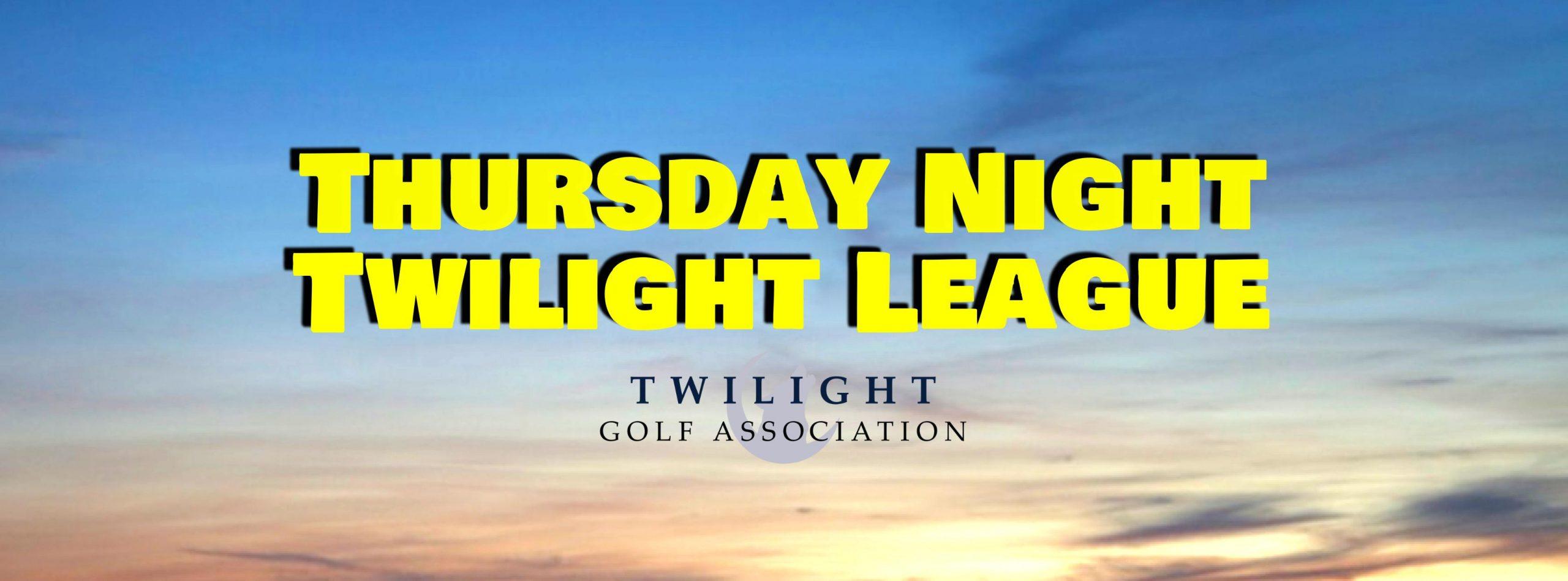 Thursday Twilight League at Riverwinds Golf Course