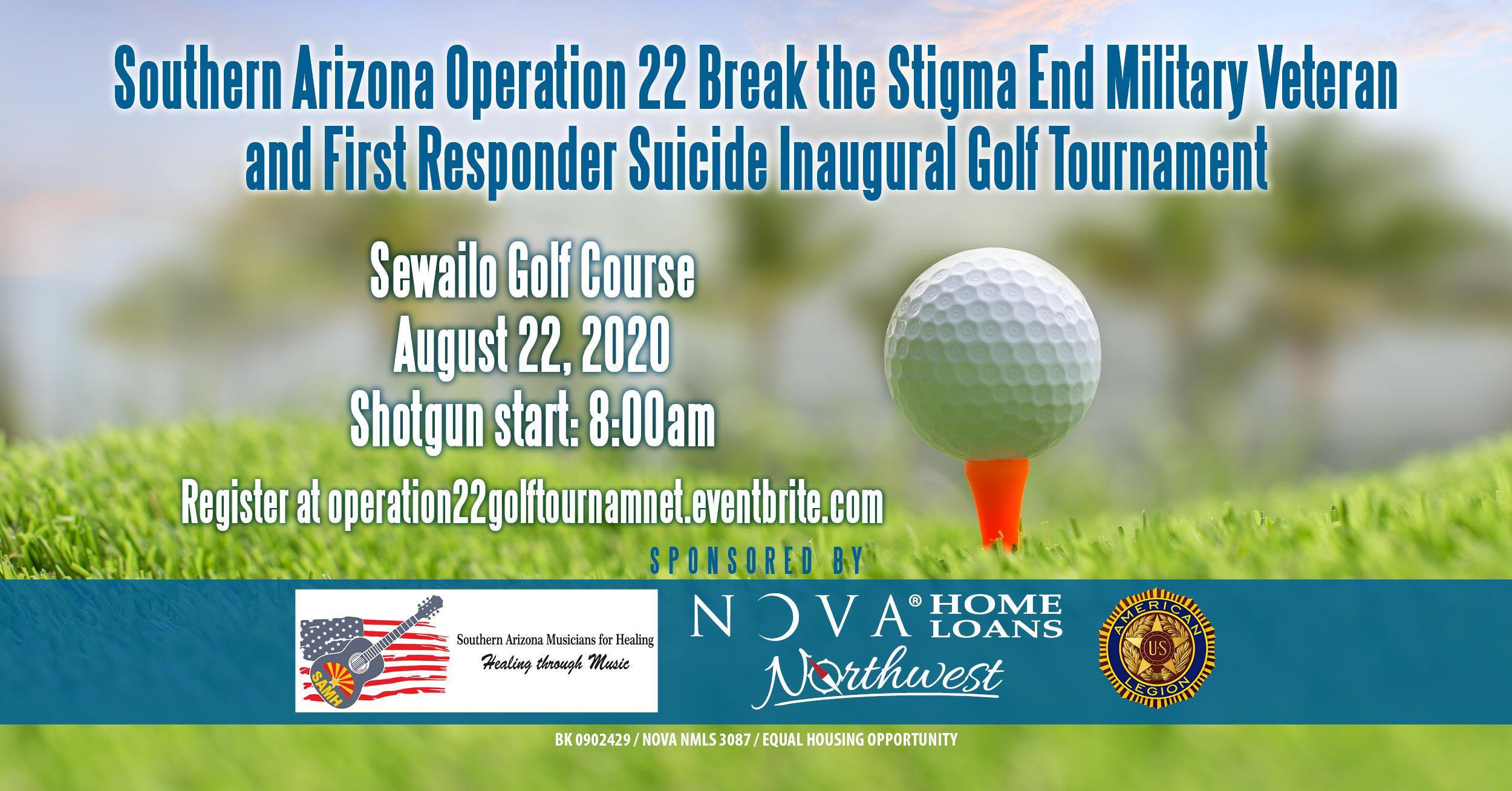 Southern Arizona Operation 22 Break the Stigma Inaugural Golf Tournament