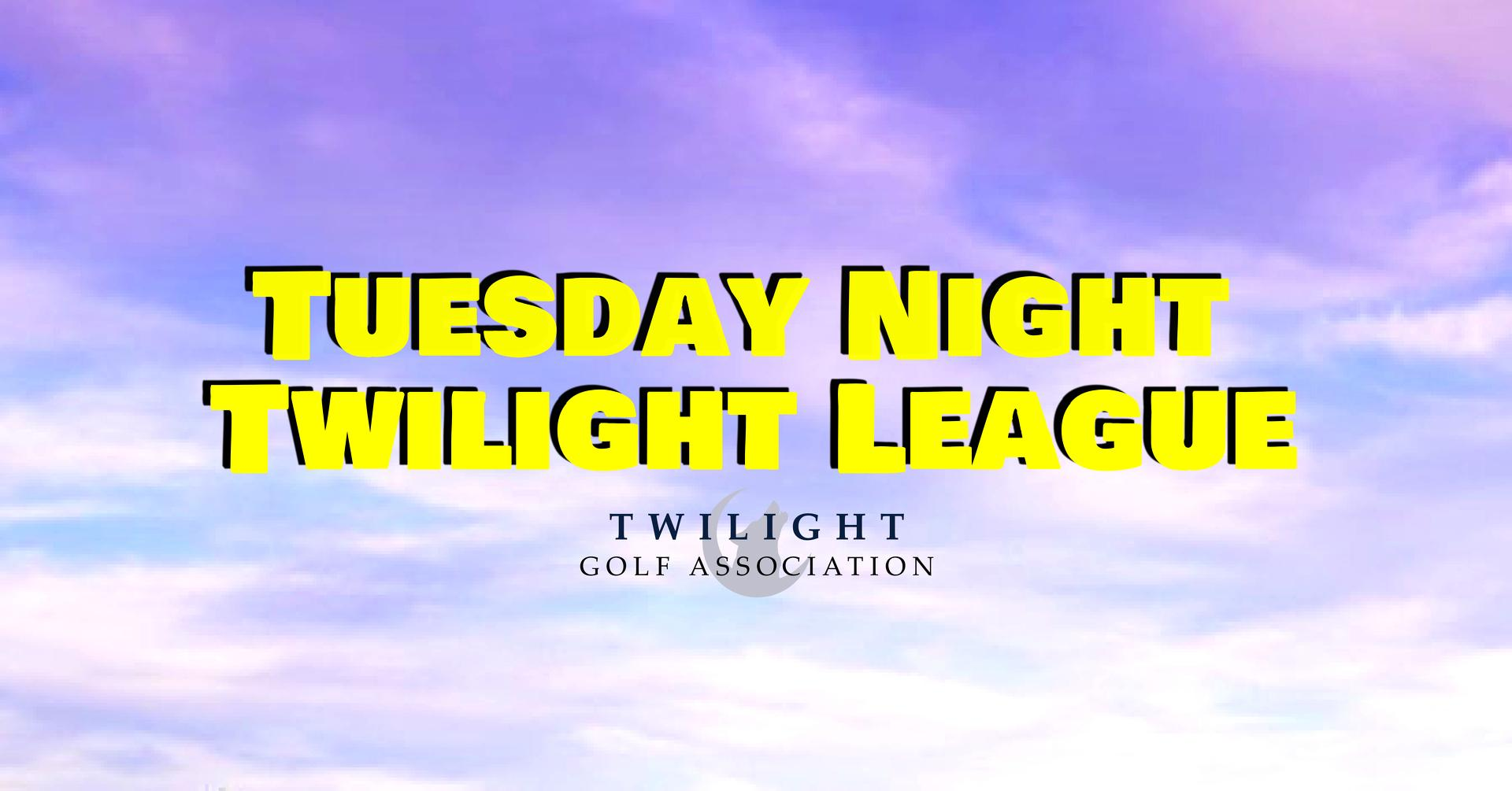 Tuesday Twilight League at Desert Mirage Golf Course