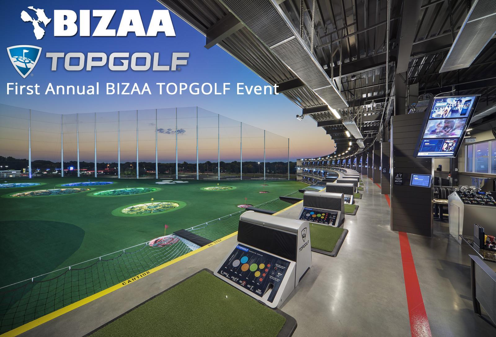 First Annual BIZAA Topgolf Event