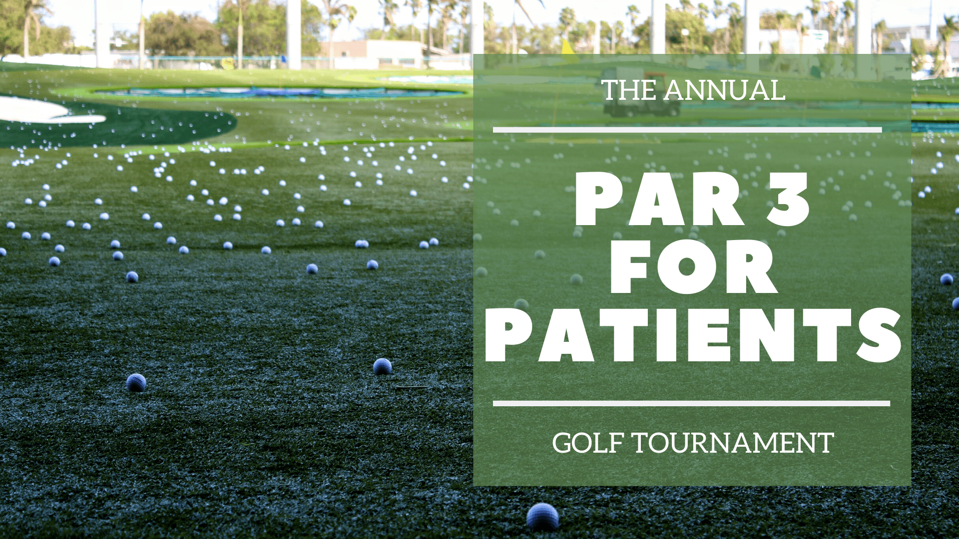 Mercy Health Center's Annual Par 3 for Patients Golf Tournament