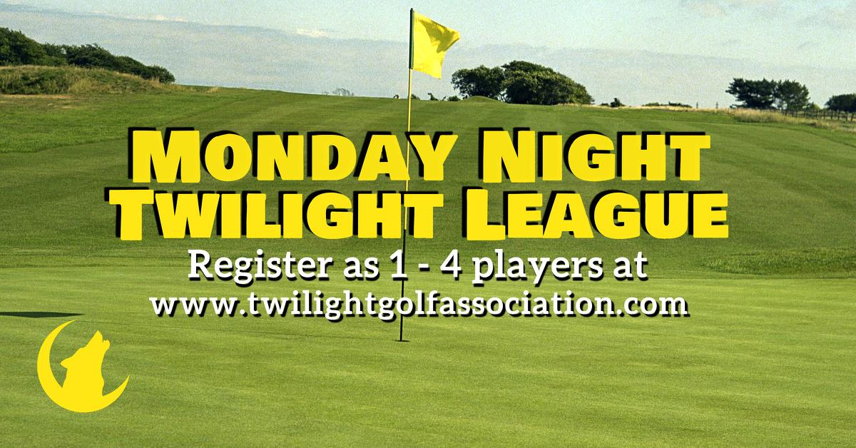 Monday Twilight League at Fort Belvoir Golf Course