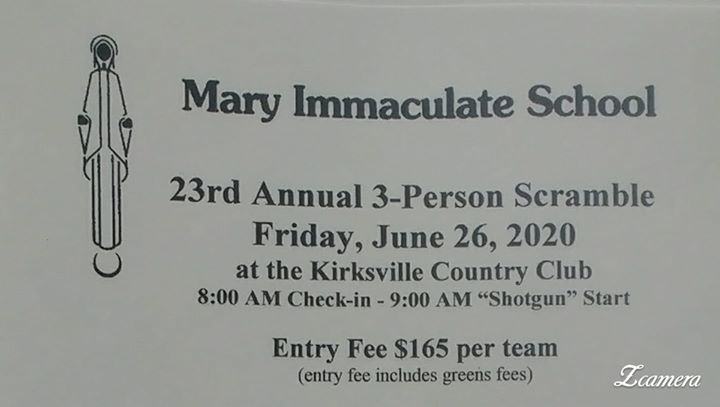 Mary Immaculate Annual Golf Tournament