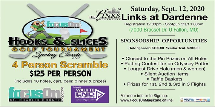 Hooks & Slices Charity Golf Tournament