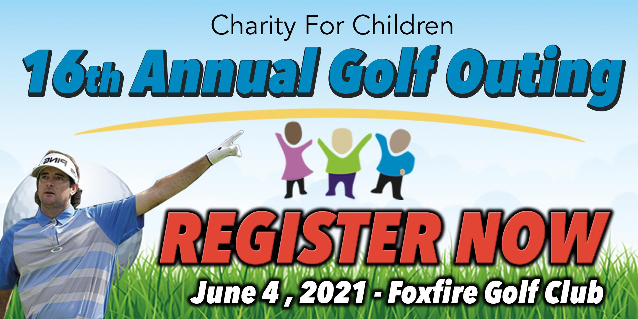 Copy of Charity For Children 16th Annual Golf Outing