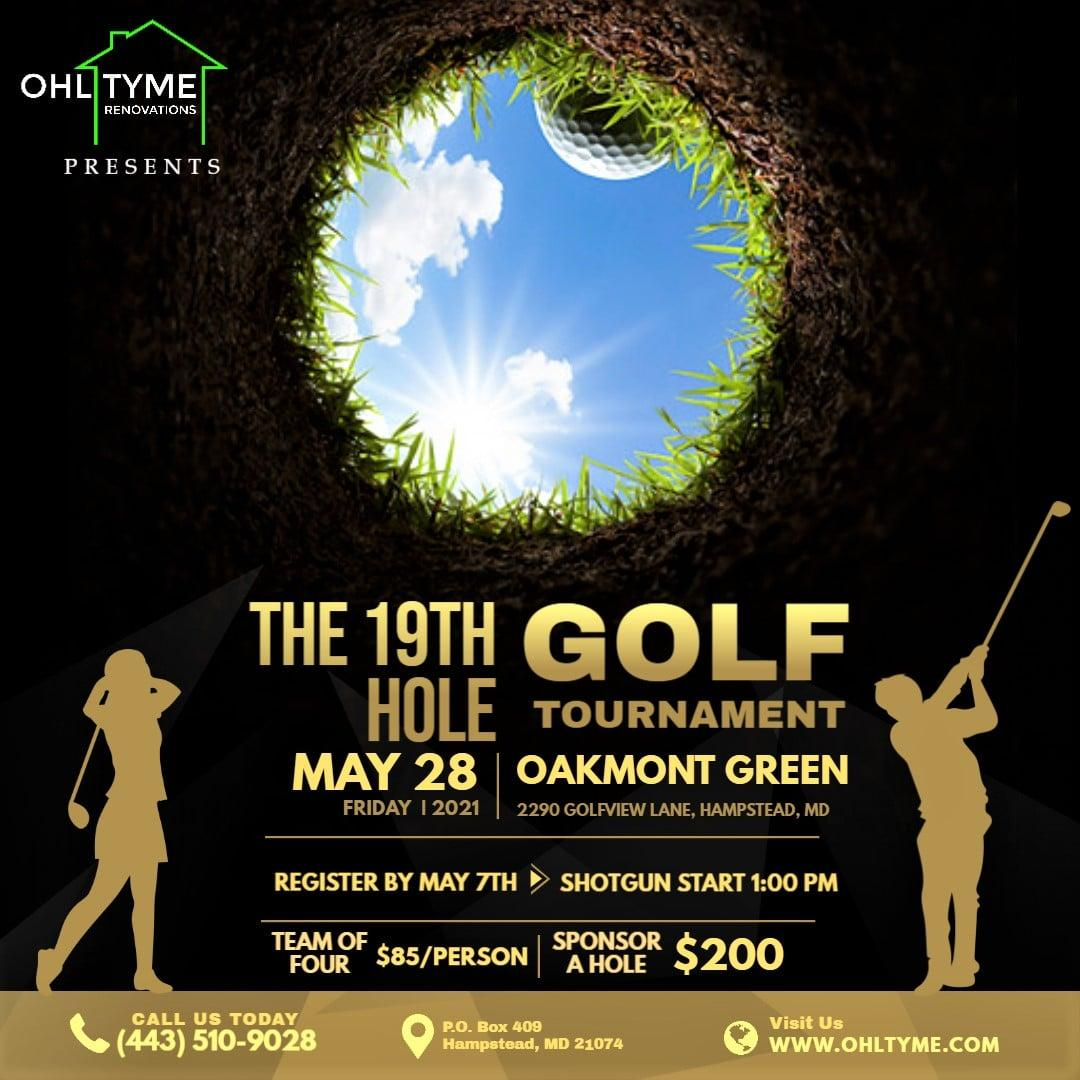 The 19th Hole Golf Tournament