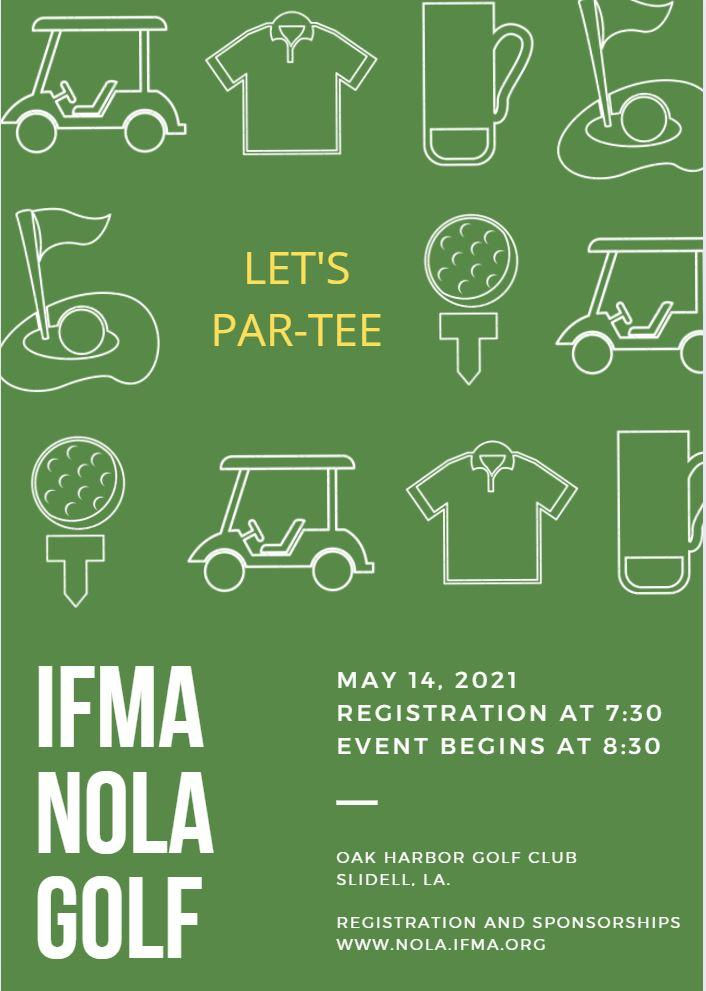 23rd Annual IFMA New Orleans Chapter Golf Tournament