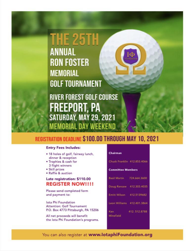 25th Annual Ron Foster Golf Tournament