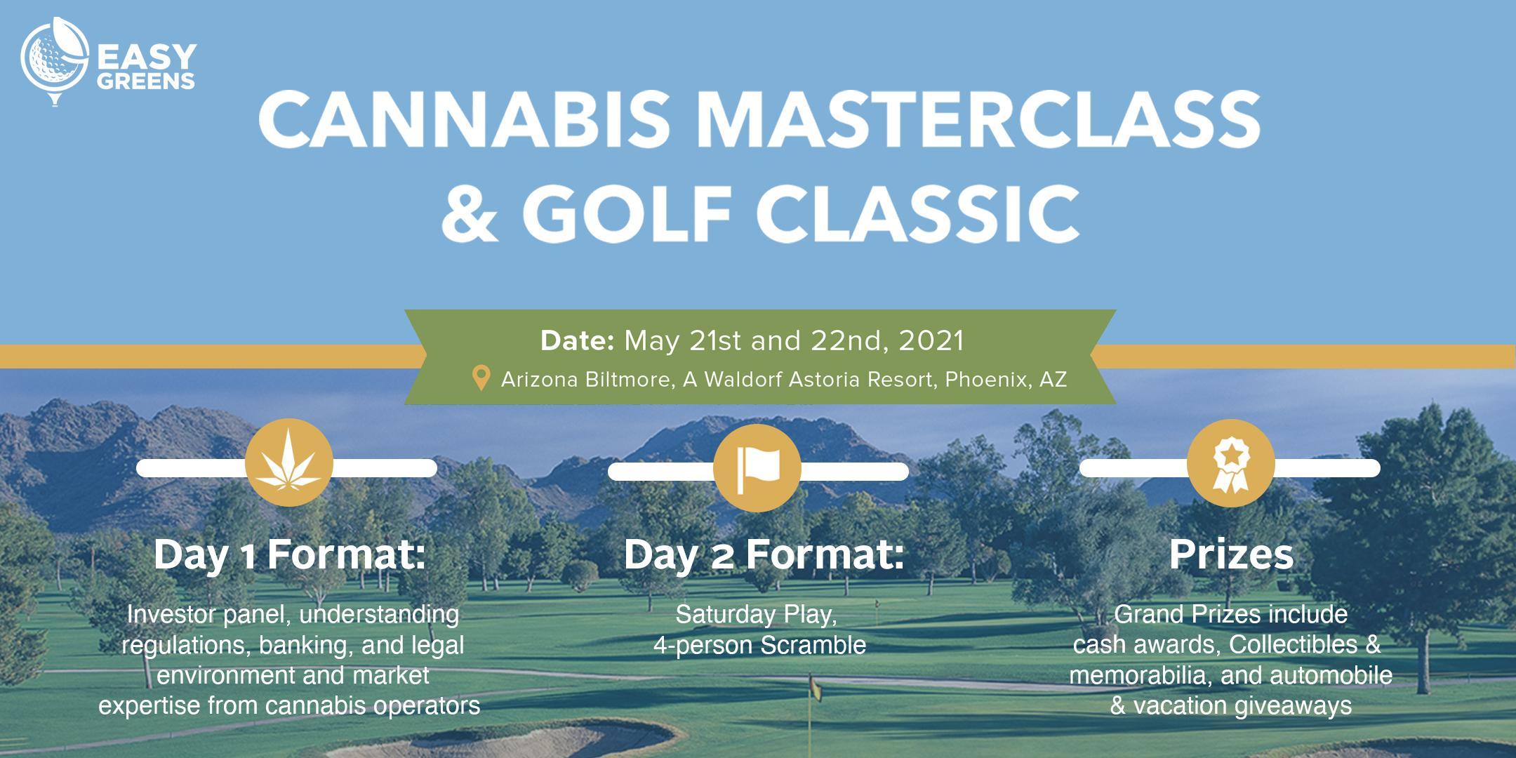 Easy Greens - Cannabis Master Class & Golf Classic