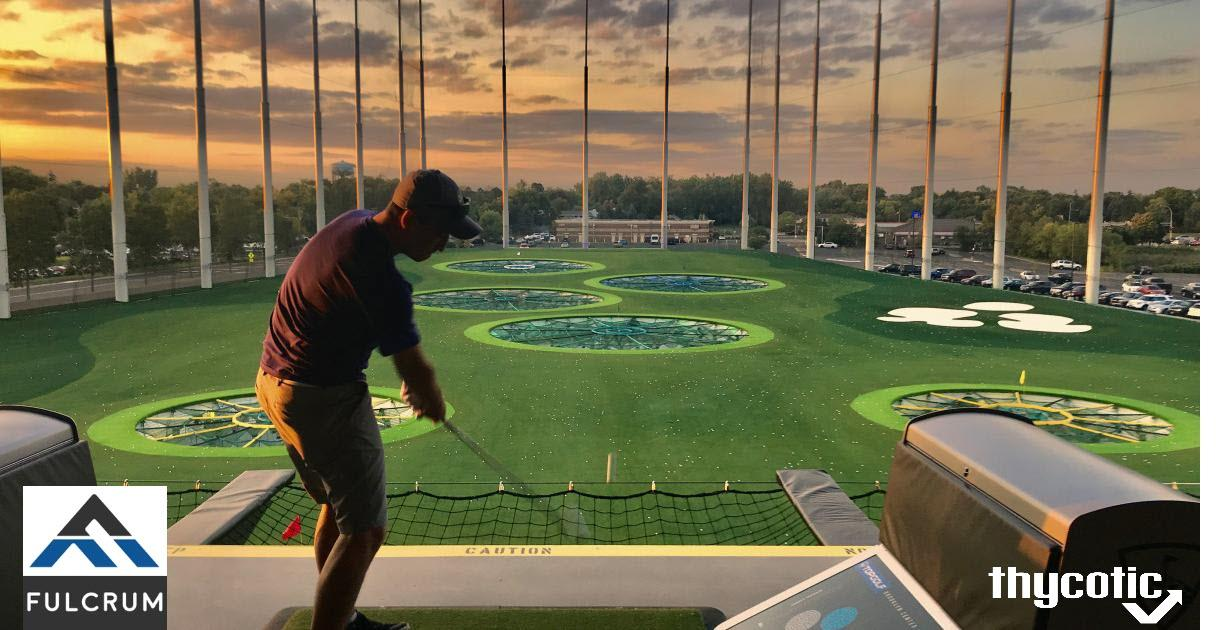 Fulcrum and Thycotic TopGolf Happy Hour