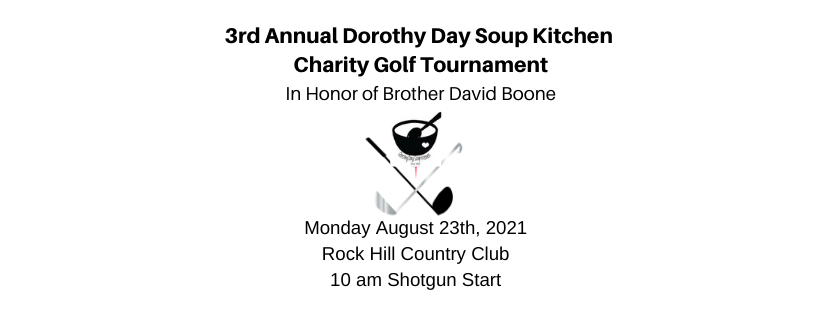 3rd Annual Dorothy Day Soup Kitchen Benefit Golf Tournament