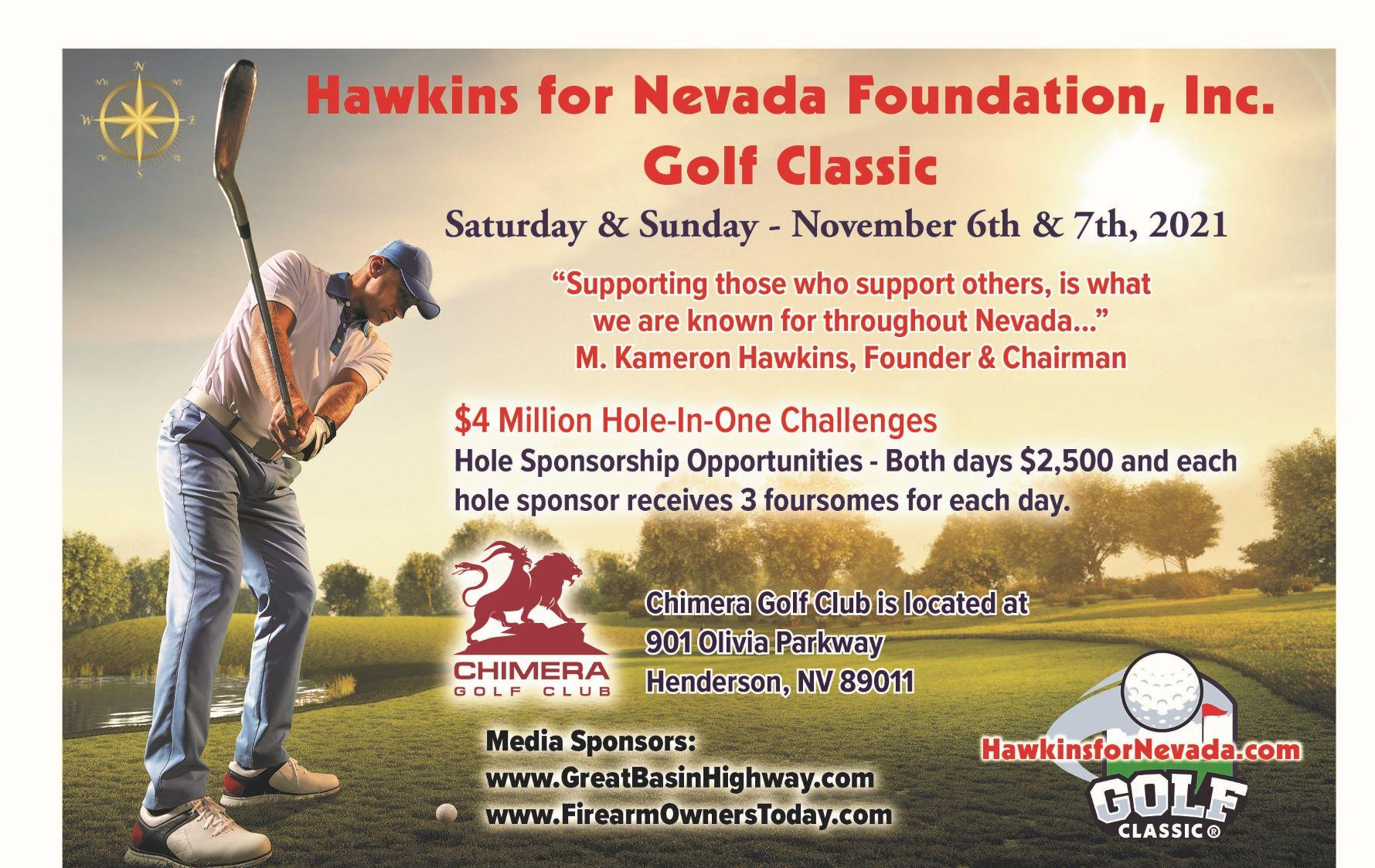 Hawkins for Nevada Golf Classic Henderson, NV