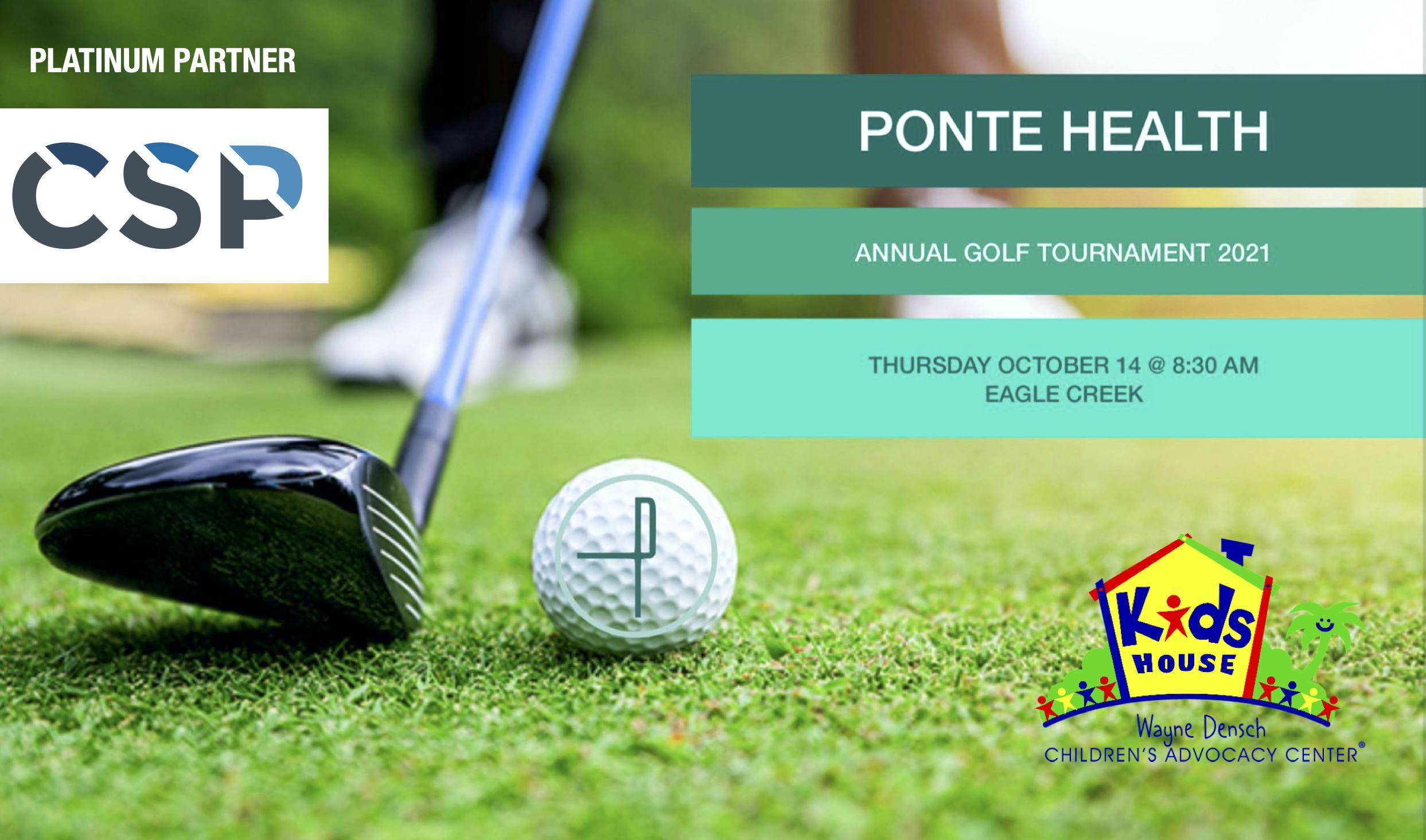 Ponte Health's 4th Annual Golf Tournament 2021