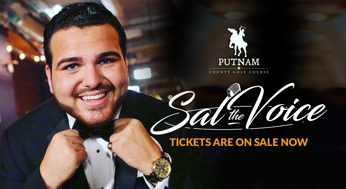 """Sal """"The Voice"""" LIVE at Putnam County Golf Course"""