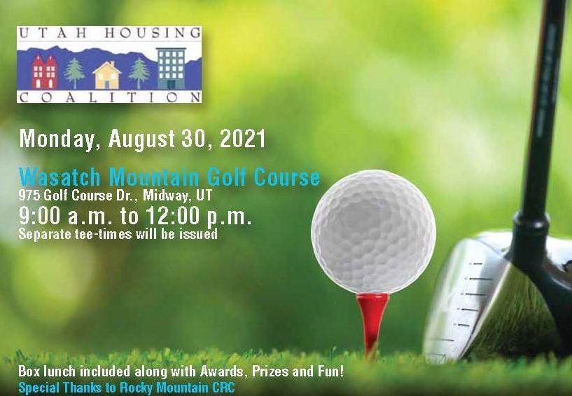 2021 Utah Affordable Housing Golf Tournament