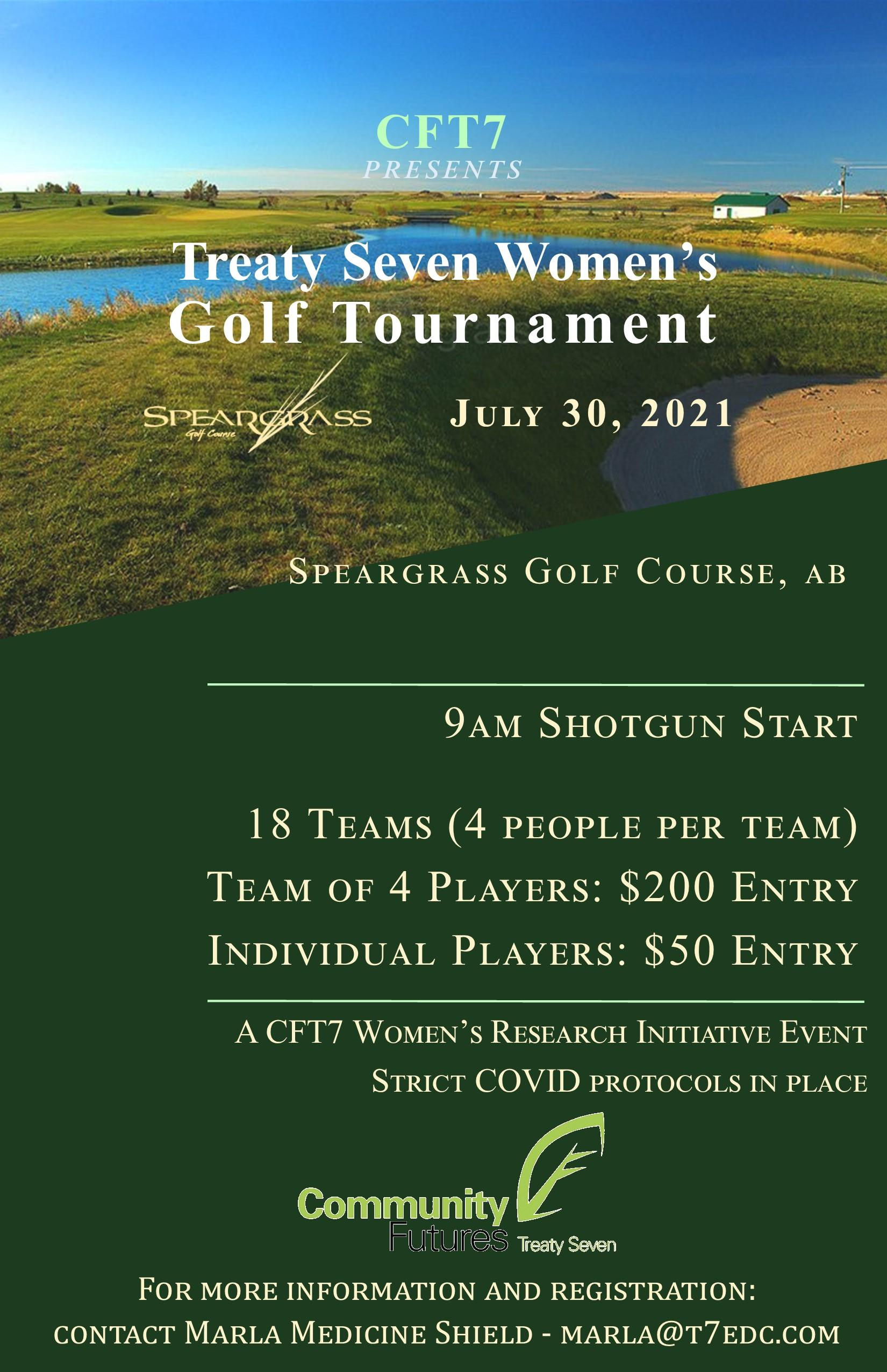 CFT7 - Treaty 7 Women's Golf Tournament