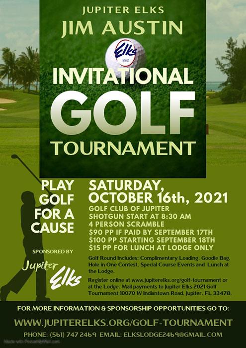 Jupiter Elks Jim Austin Invitational Golf Tournament