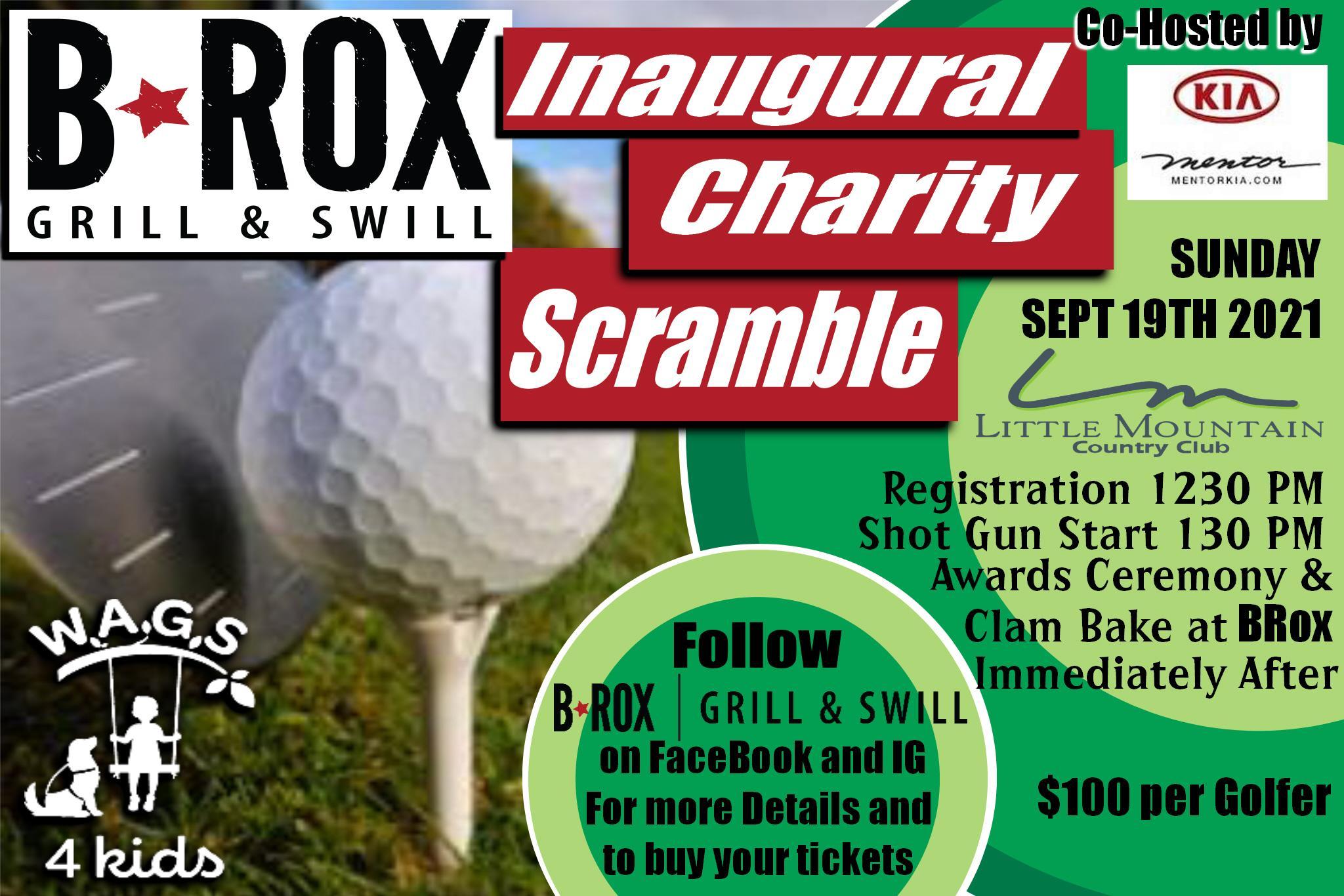 B Rox Inaugural Charity Golf Scramble