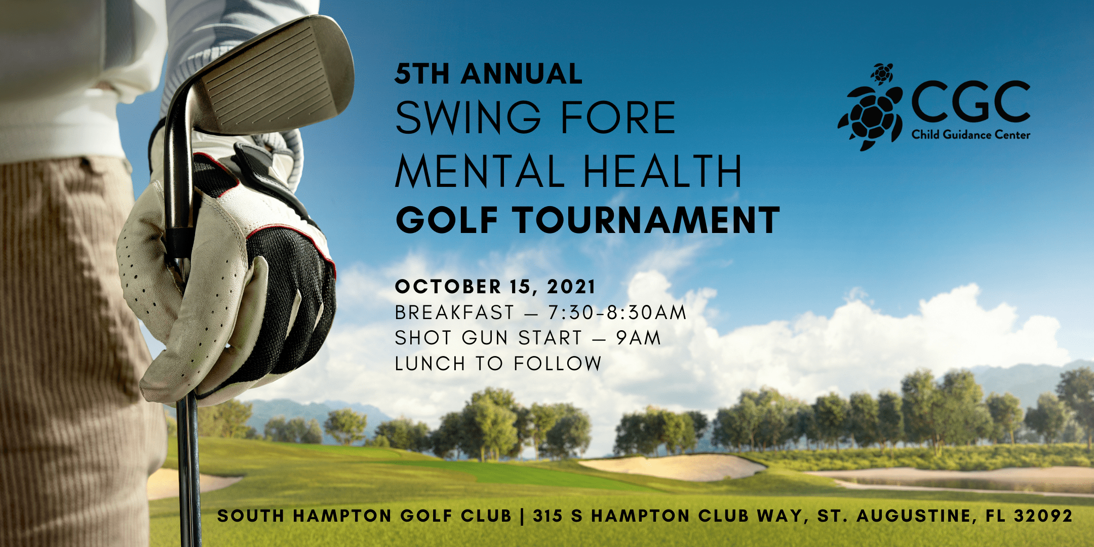 5th Annual Swing Fore Mental Health Golf Tournament