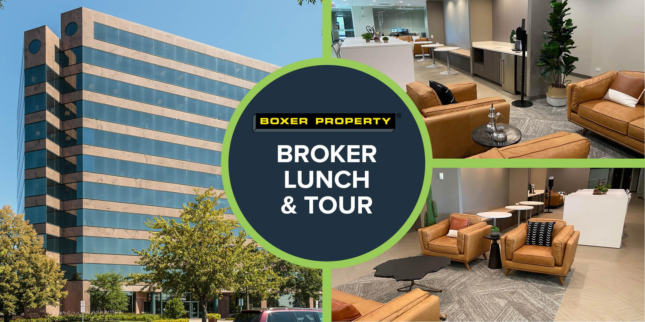 Broker Lunch at 1750 E Golf Road - Hosted by: Boxer Property