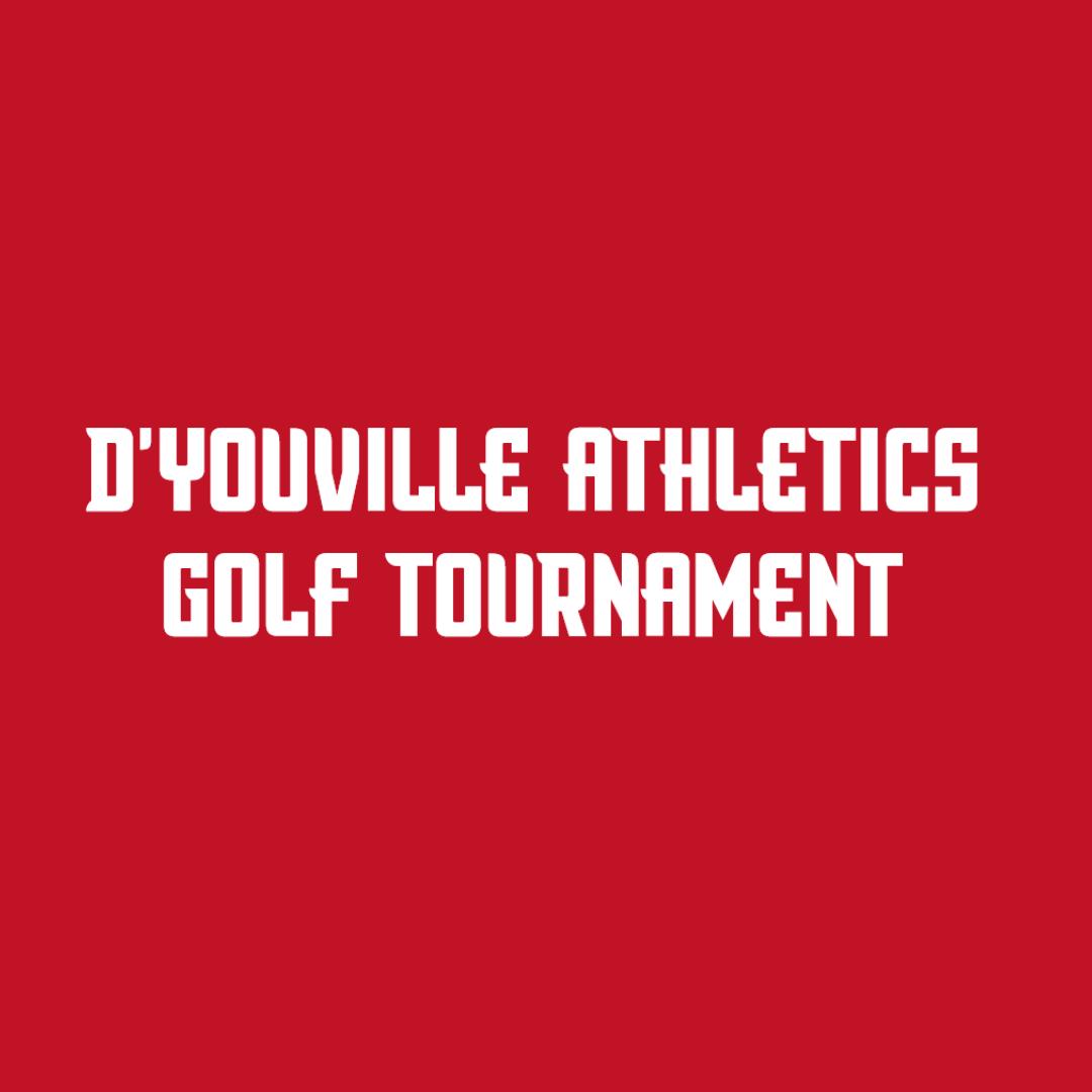 D'Youville Athletics Golf Tournament