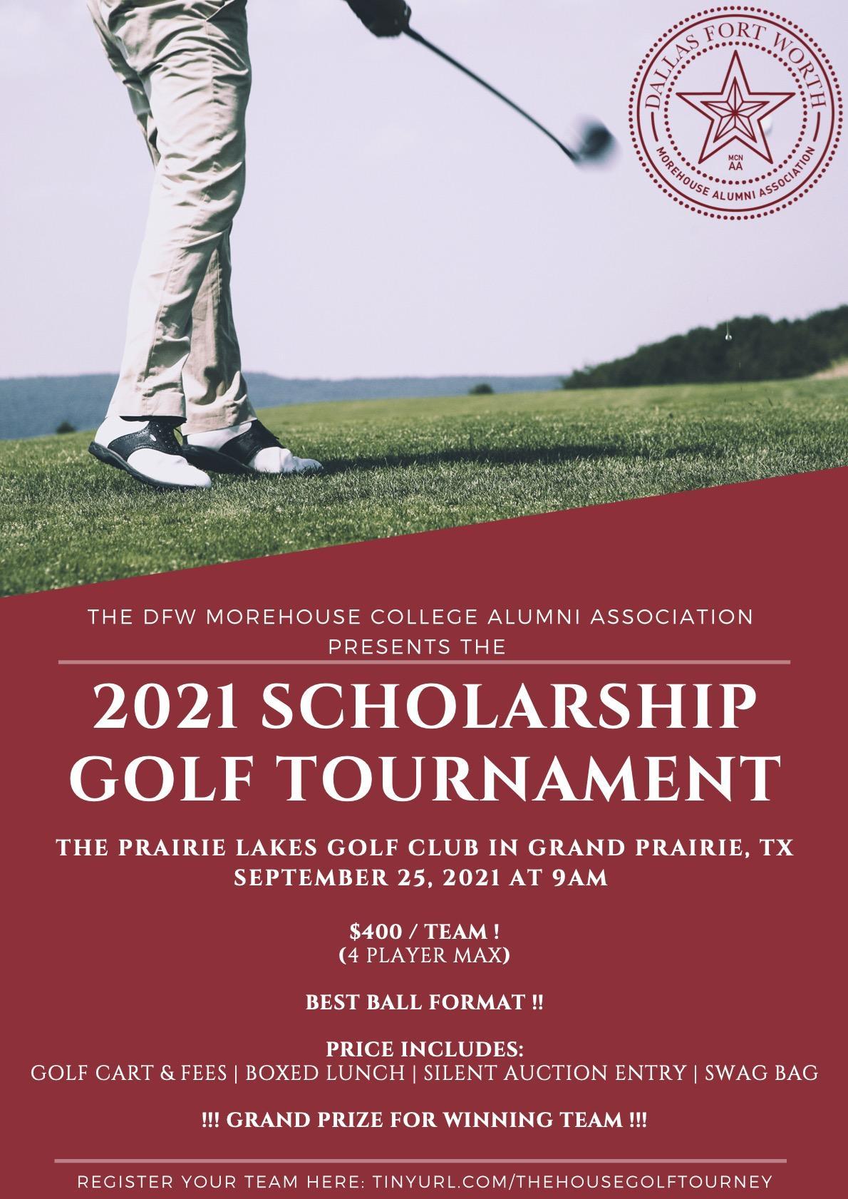 The DFW Morehouse Alumni Scholarship Golf Tournament