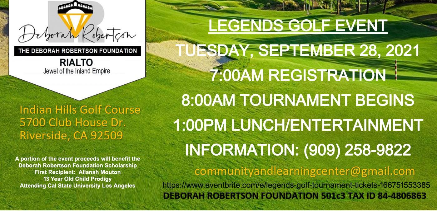 Legends Golf Tournament