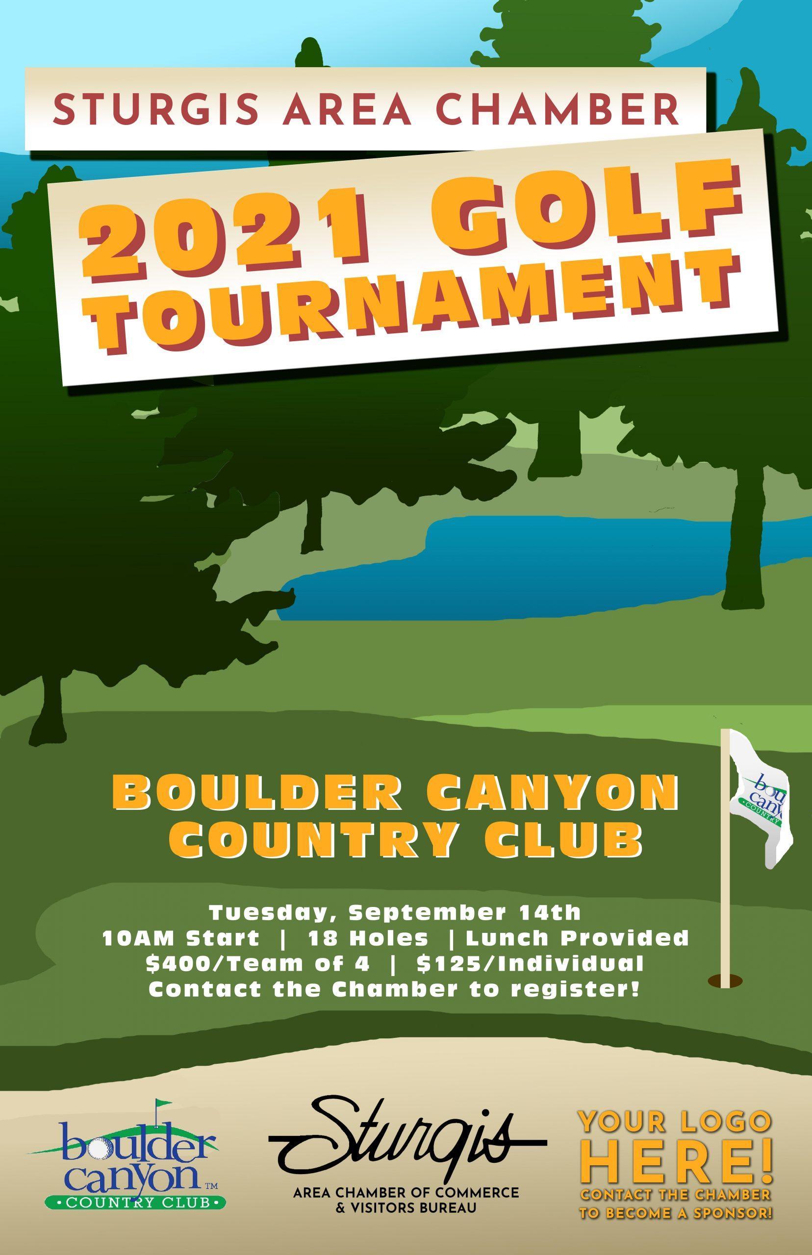 Sturgis Chamber 2021 Golf Tournament