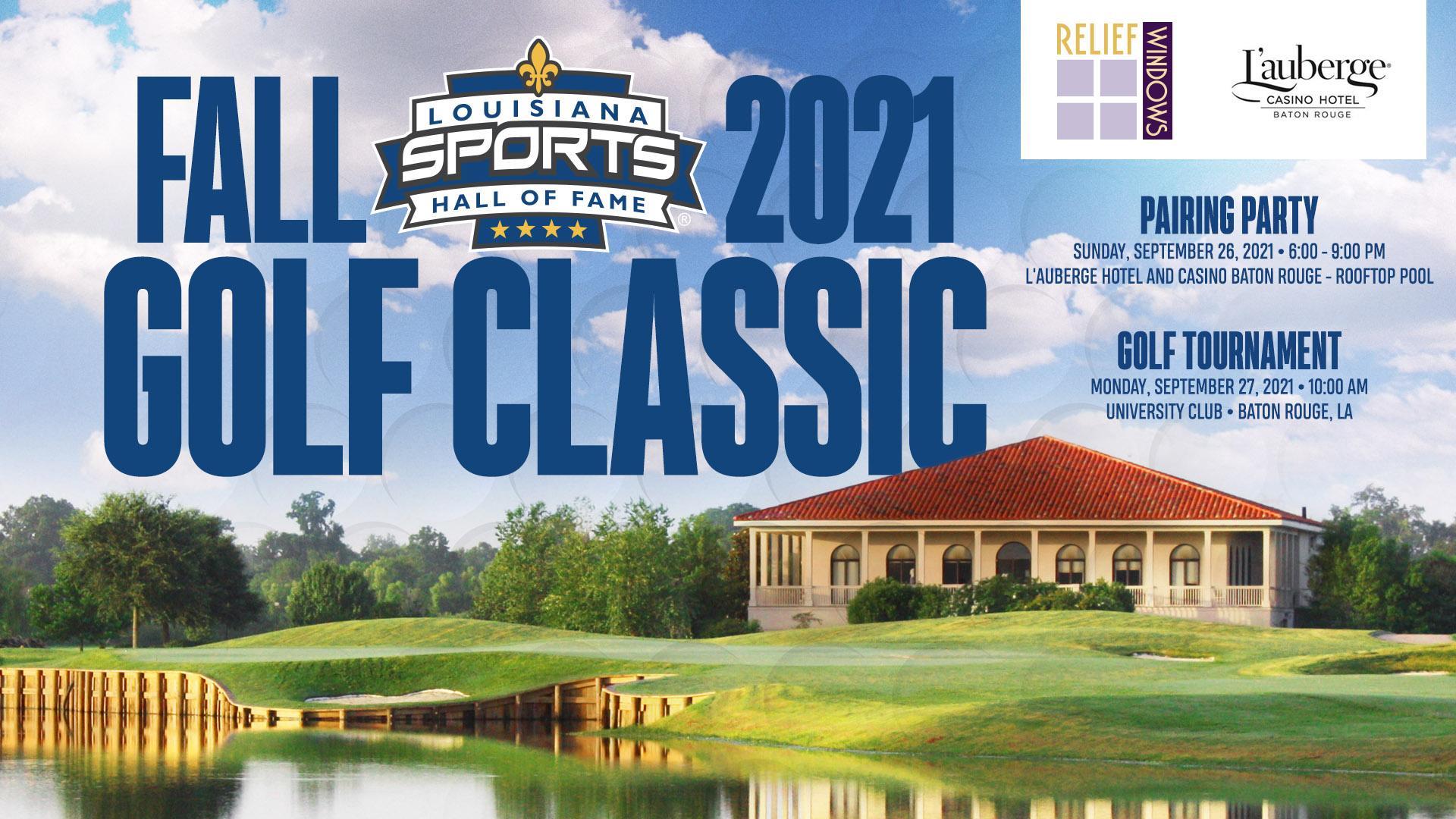 LSHOF 2021 Fall Golf Classic