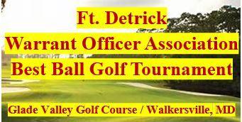 Ft. Detrick Warrant Officer Association Golf Tournament
