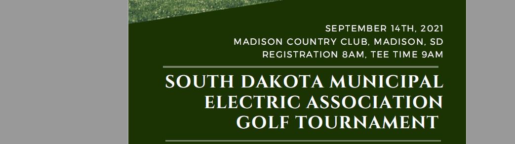 South Dakota Municipal Electric Association Golf Tournament