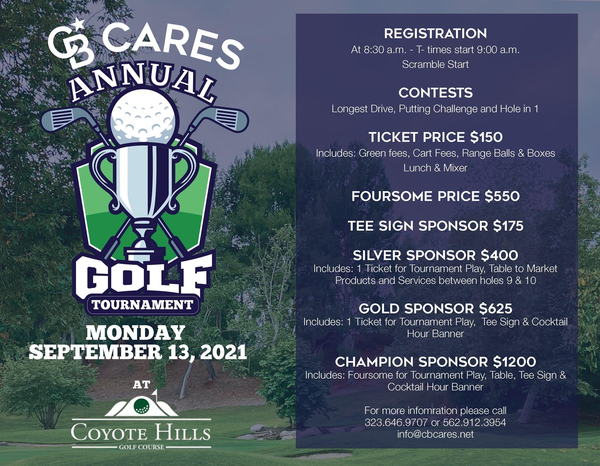 CB Cares Annual Golf Tournament