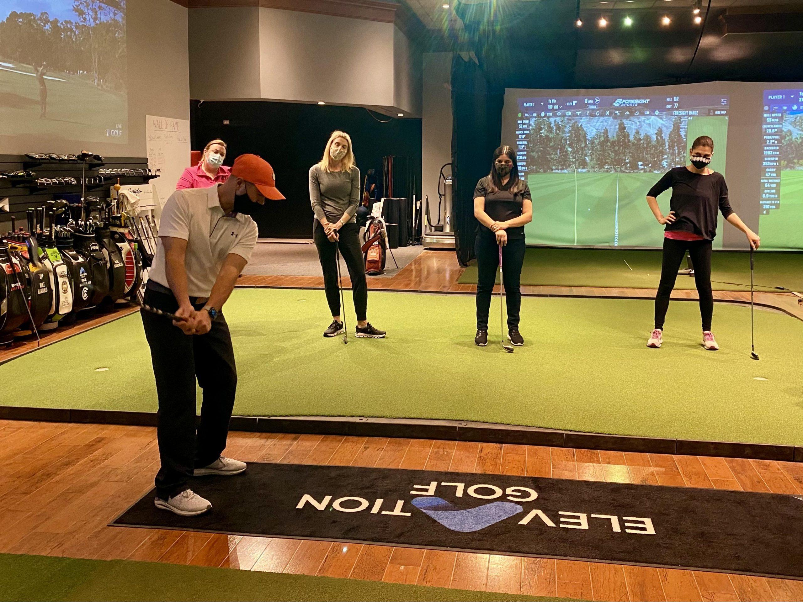 Women's Series Thursday Evening Indoor Golf Classes