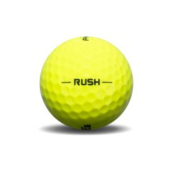 Pinnacle Rush Yellow Golf Ball View