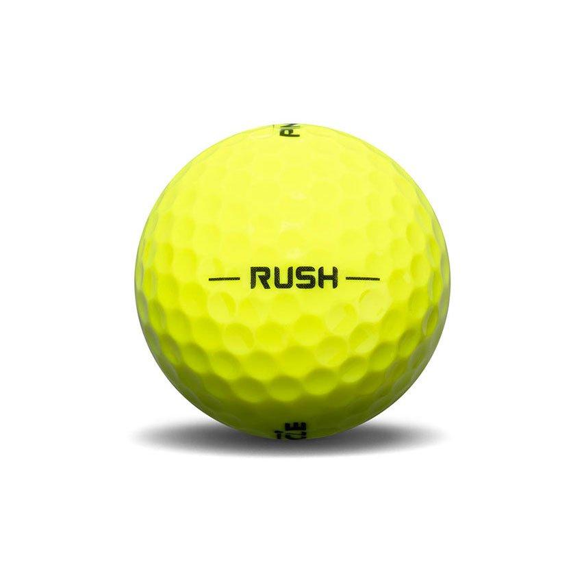 Pinnacle Rush Yellow Golf Ball View
