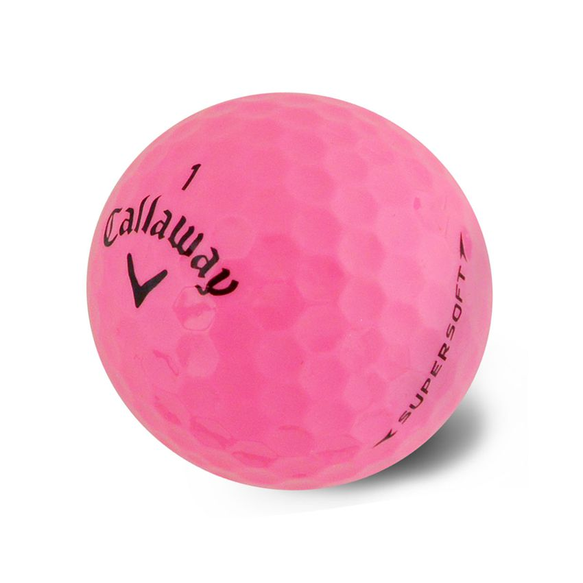 Callaway Supersoft Pink Ball View