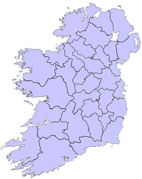 Map Of Ireland Golf Courses : ireland, courses, Ireland, Course, Location