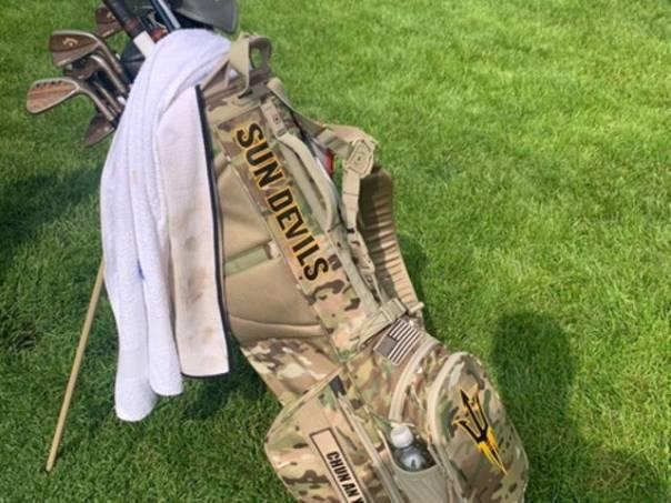 Chun An Yu golf bag