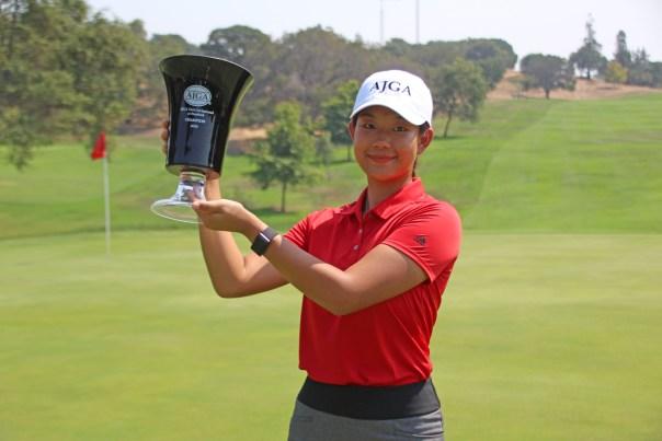 Xin (Cindy) Kou - Awards Ceremony - AJGA Girls Invitational at Stanford (23)
