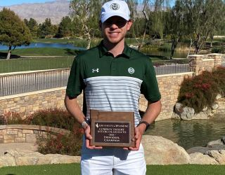 Men's college golf Player of the Week: AJ Ott, Colorado State